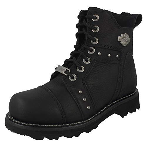 Harley Davidson Women Oakleigh Black, Größe:40 Harley Biker-boots