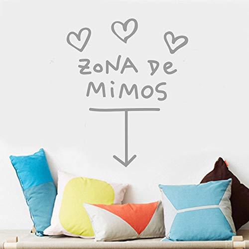 Beikoard Zona De Mimos Wohnkultur Wandaufkleber Aufkleber Schlafzimmer -