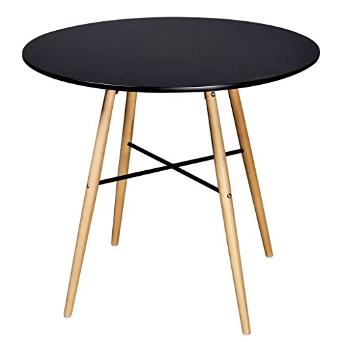 vidaXL MDF Esstisch Buchenholz Esszimmer Tisch Küchentisch Holztisch mehrere Auswahl