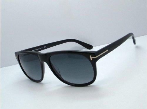 Tom ford occhiali da sole da uomo 0236 olivier - 54a: tartaruga rossa