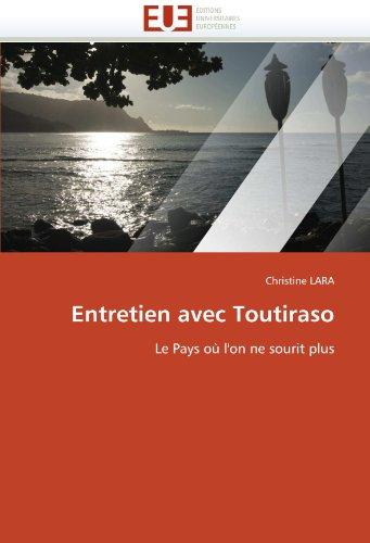 Entretien avec toutiraso (OMN.UNIV.EUROP.) por LARA-C