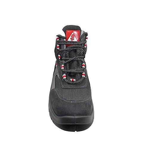 Bellota microfiber s1P sRC chaussures de travail chaussures chaussures berufsschuhe businessschuhe haut gris Gris - Gris