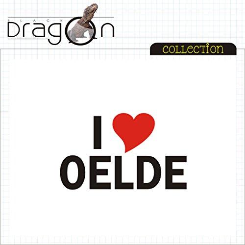 T-Shirt - i Love Oelde - Herren - unisex Weiß