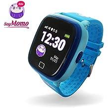 SoyMomo H2O Reloj Inteligente para Niños con GPS y Botón SOS, Móvil para niños con