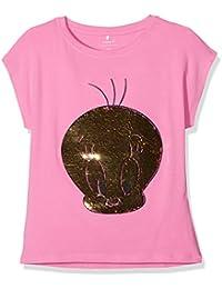 Name It Nkflooney Ime SS Top WAB, T-Shirt Bambina