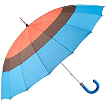 GOTTA Paraguas Largo y Grande de Mujer, 16 Varillas. Antiviento, Manual y con