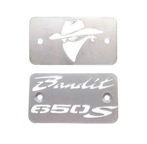 Copri tappo vaschetta olio freno e frizione per Suzuki GSF650 Bandit (2 pezzi)
