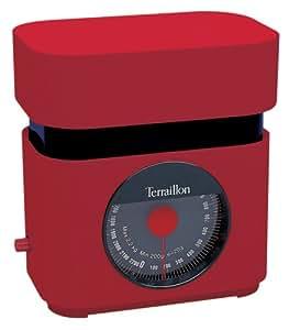 Terraillon-3108-Balance de cuisine mécanique BA 22 Rouge 2,2KGS