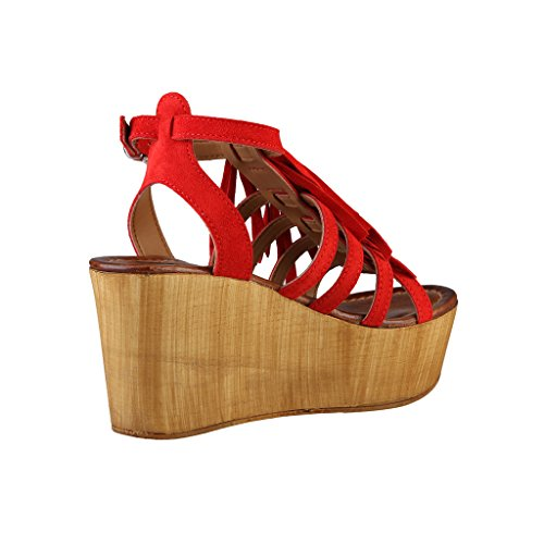 Wedges Ana Lublin Rouge