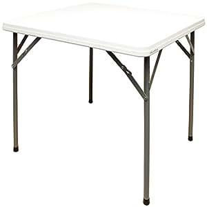 hartleys praktischer quadratischer klapptisch 90 cm f r drinnen und drau en k che. Black Bedroom Furniture Sets. Home Design Ideas