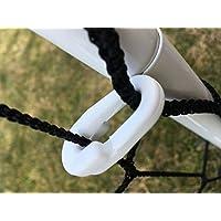 edenvista 40clip di fissaggio trattati Anti-UV per rete, bianco