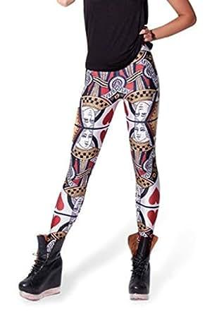 Relibeauty-Fashion Legging de la Reine de Cœur