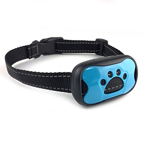 ISOTRONIC Anti-Bell Hundehalsband Bellhalsband mit Ton & Vibration gegen Bellen für kleine und große Hunde