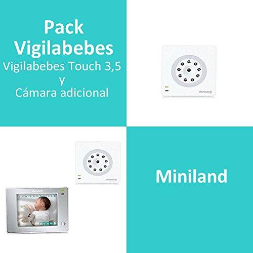 Pack Vigilabebes Touch 3,5 de Miniland + Cámara adicional