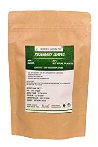Green Wealth - Dried Rosemary Leaves Premium Quality - 200 Grams