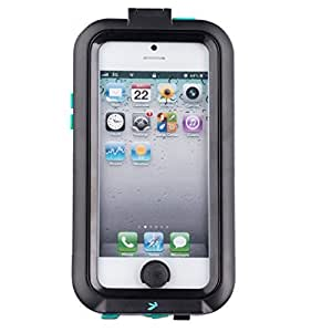 Black Tough Hard Waterproof Case for Apple iPhone 5 5s 5c SE suitable for mounting to Ultimate Addons attachments