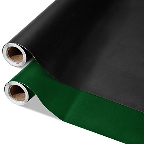 casa pura® Multifunktions - Tafelfolie | Testnote 1,7 | selbstklebend | 60x300cm | in 2 Farben | schwarz