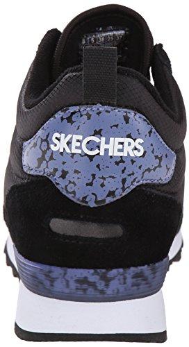 Skechers OG 85Ditzy Dancer, Baskets Basses Femme Noir - Schwarz (BKLV)