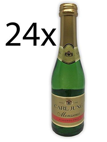 24 x Carl Jung Mousseux - Alkoholfrei - 0,2l Piccolo
