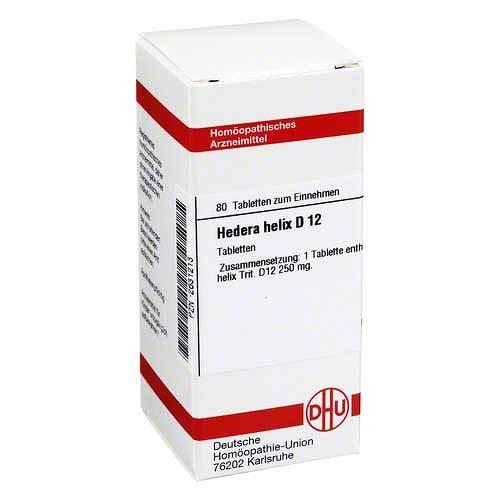Hedera Helix D 12 Tablett 80 stk