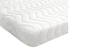 Revive Direct Memory Foam and Reflex 3 Zone Mattress with 1 Fibre Pillows, Micro Quilted cool flex Cover, Single , 3 ft , 90 x 190 cm