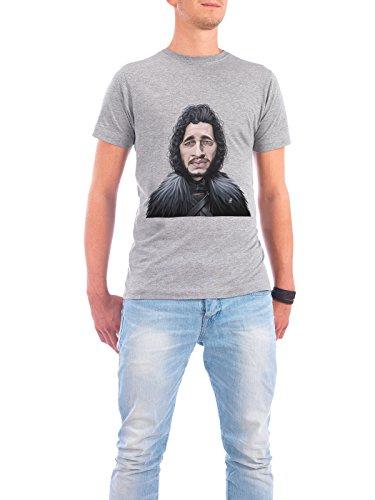 """Design T-Shirt Männer Continental Cotton """"Kit Harington"""" - stylisches Shirt Film von Rob Snow Grau"""