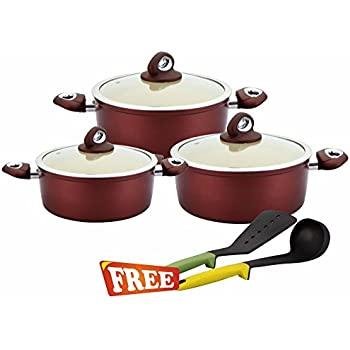 Wonderchef Galaxy Set with Free Silicone Spoon and Spatula worth Rs. 750