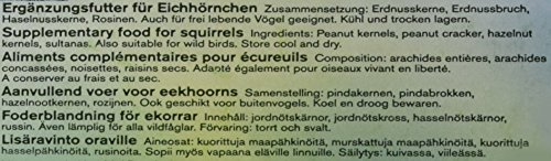 Erdtmanns Eichhörnchenfutter Big Pack (3 x 300 g) - 4