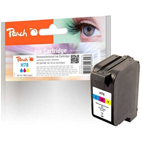 Peach Ink Cartridge H78 HP78 colour, 16.5 g