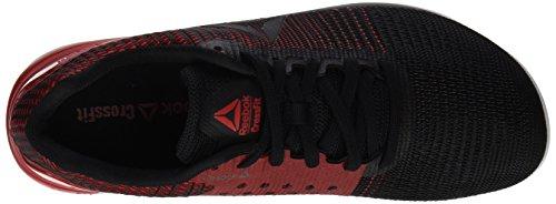 Reebok Crossfit Nano 7, Scarpe Sportive Indoor Uomo Nero (Black/white/primal Red)