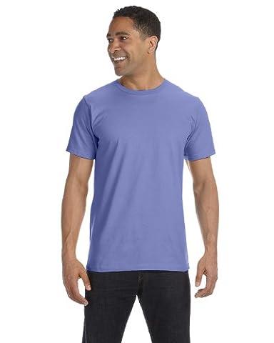 Anvil Herren One-Shoulder T-Shirt Medium Violett