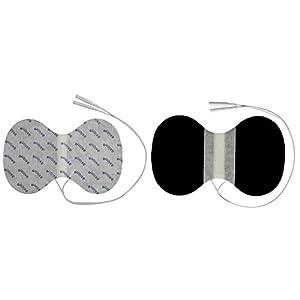 2 Nacken-Elektroden – Gegen Verspannungen & Nackenschmerzen – TENS & EMS – axion