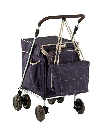 Blue Check Sholley Combo, The most popular shopping trolley bundle from Sholley