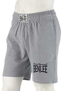 """BENLEE 196011 Rocky Marciano  Sportshorts """"Basic Short"""", Grau, GröM-_e: S (marl grey)"""