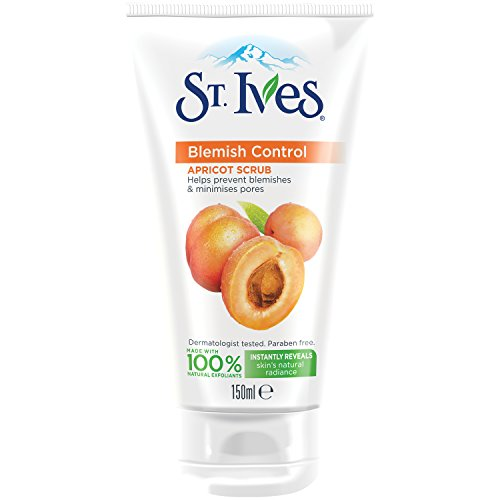 St. Ives Blemish Fighting Apricot Facial Scrub 150ml Pack of 3 (St Ives Gesichtspflege)