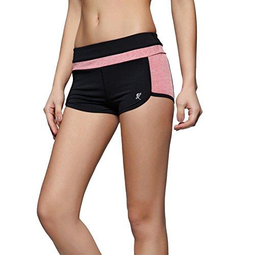 DaoJian Femmes Running Sports Shorts Orange