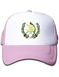 KASHFIHO Guatemala Flag Adjustable Mesh Caps Summer Hat For Kids