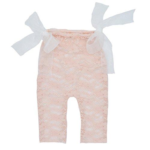ür Neugeborene mit Spitze Neugeborene Fleshcolor ()