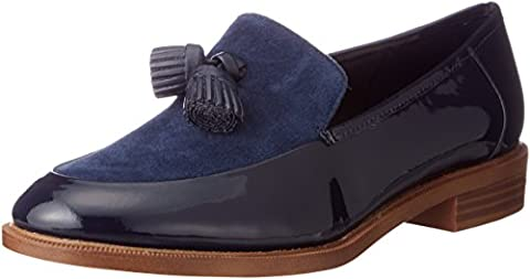 Clarks Taylor Spring Leather Shoes In Standard Fit Size 4