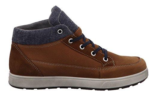Ricosta Leon, Sneakers Hautes Garçon Marron (Curry)