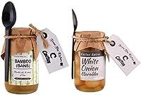 Cactus Homemade Bans/Bamboo and White Onion Murabba with Honey 450g Each