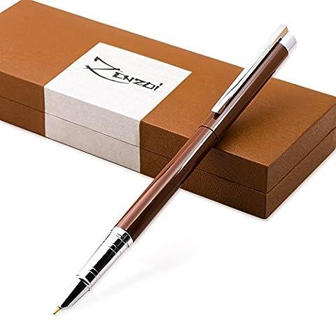 Füllhalter Füllfederhalter schreiben Füller Kaligraphie Füllhalter mit Tinten-Konverter und Geschenkschachtel - Bestes Kalligraphie-Federhalter-Schreibset für Standardpatronen für Geschäftsführer