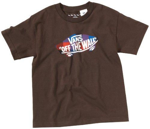 Vans t-shirt pour enfant bOYS pLAIDICAL v Marron - chocolat noir