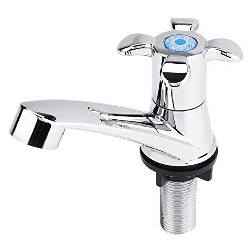 S-Senrohy ABS Kunststoff Einzigen Kaltem Wasserhahn Wasserhahn Becken Küche Waschbecken Zubehör Becken Einzelnen Kaltwasserhahn Blossom Handle - Delta-kunststoff-behälter