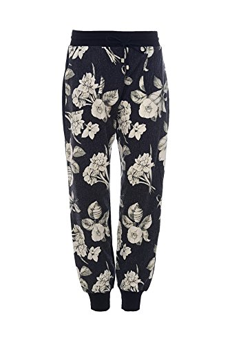 Pantaloni donna fantasia fiore TWIN SET art. KA52RQ