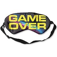 GAME OVER 99% Eyeshade Blinders Sleeping Eye Patch Eye Mask Blindfold For Travel Insomnia Meditation preisvergleich bei billige-tabletten.eu