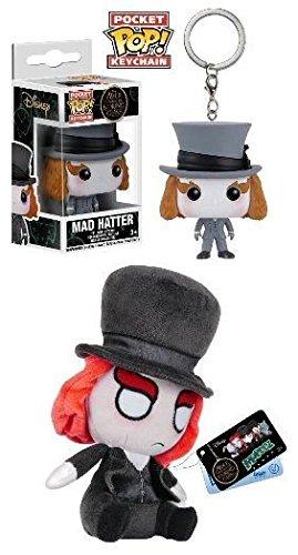 Funko Pocket POP! Mad Hatter + Mopeez - Vinyl Keychain Figure Plush Toy Set NEW (Johnny Depp Mad Hatter)
