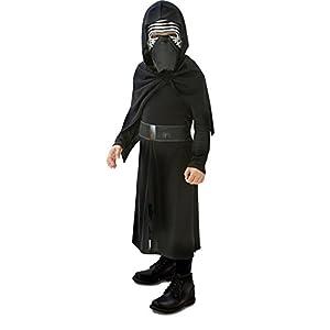 Star Wars - Disfraz Kylo Ren, para Niños, 7-8 Años (Rubies 620260-L)