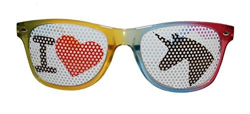 Einhornbrille-I-Love-Einhorn-Spabrille-von-seven9-Partybrille-fr-jedes-Einhornkostm-Karnevalsbrille-fr-Damen-und-Herren-Brille-fr-die-perfekte-Faschingsparty