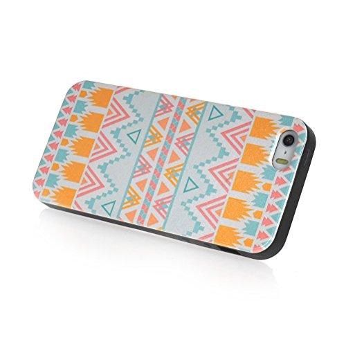MOONCASE Gel TPU Silicone Housse Coque Etui Case Cover pour Apple iPhone 5 5S 05